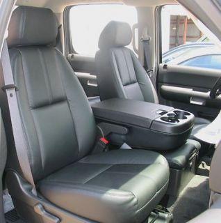 2010 2012 chevrolet silverado crew leather interior seat covers black
