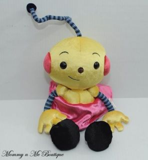 Disney Junior ROLIE POLIE OLIE ZOWIE Girl Stuffed Plush Beanbag Toy