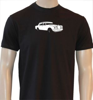 rolls royce silver shadow mens retro car t shirt ca200