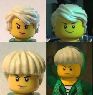 HAIR For YOUR Lego NINJAGO TEENAGE STYLE & ORIGINAL Lloyd ZX The