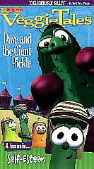 Childrens Video VEGGIE TALES DAVE & PICKLE Gods Lesson Self Esteem