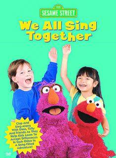 Sesame Street   We All Sing Together DVD, 2003