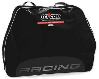 scicon travel plus racing bike travel case black one day