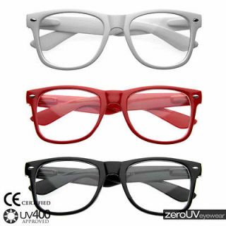 New nerd geek clear lens dork costume wholesale glasses (3 pack) 9013