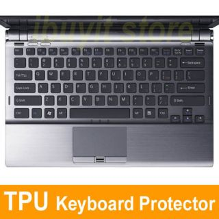 Ultra Thin Clear TPU Keyboard Protector Cover for SONY VAIO Z11 Z12