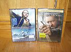 Commander & Robin Hood DVDs *Russell Crowe Combo* Two Brand New DVDs