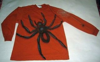 VGU Genuine Blues Halloween giant spider & web l/s tee t shirt Small 8