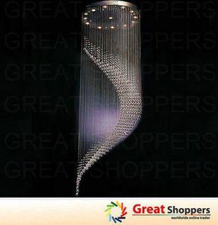 K9 Crystal LED Ceiling Light Pendant Lamp Fixture Lighting Chandelier