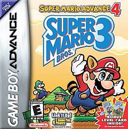 Super Mario Advance 4 Super Mario Bros. 3 (Nintendo Game B