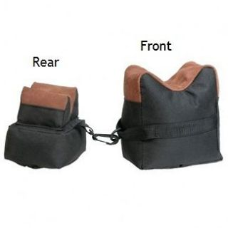 Air Rifle Bench Rest Sand Shooting Hunting Bags (Front, Rear or Set