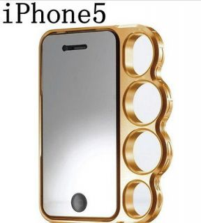 hot Lord Of The Rings knuckles case cover Skin for Iphone 5s Yellow