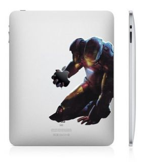 Iron Man Apple iPad 2 Ipad 1 vinyl Decal Skin Sticker WAR MACHINE