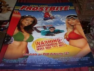 frost bite movie poster traci lords mf 1165 time left