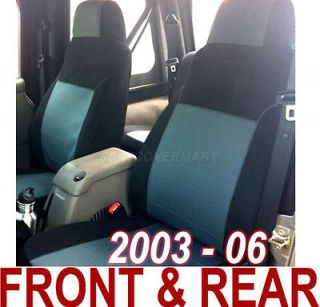 2003 04 05 06 Neoprene FULL set Car Seat Cover Charcoal Color FS2C