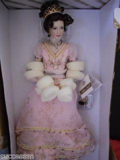 Franklin Mint Faberge Princess Sofia Debutante Porcelain Doll Pristine