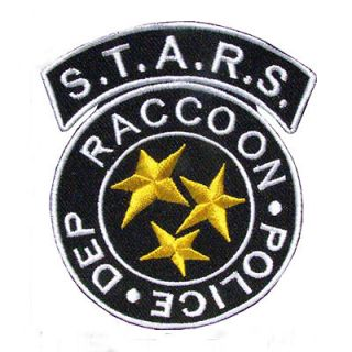 Next Free Shipping STARS Raccoon Police Resident Evil Patch Badge 6