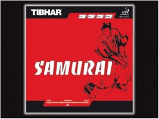 tibhar samurai rubber table tennis blade racket racquet from australia