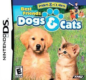 Paws & Claws Best Friends   Dogs & Cats (Nintendo DS) Lite Dsi xl 3ds