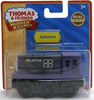 SPLATTER   Thomas and Friends Wooden Train Twins w/ Dodge T NIB   USA