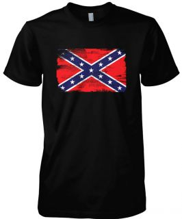 Flag Mens T Shirt Tee South Southern American States Rebel USA