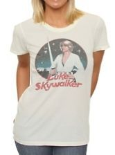 new junk food star wars retro luke skywalker juniors t