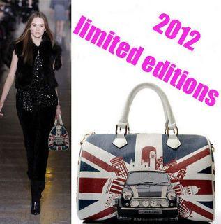 Ldays Union Jack/British flag Riet shoulder bag/Tote Bag/Lady Handbag