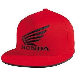 Fox Racing Honda Red Flexfit Baseball Cap Hat Brand New 58317 003
