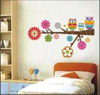 Love Owl on the Tree DIY Wall Sticker Decal with boxing YSZ171