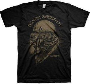 New Authentic Black Sabbath 1978 US Tour Mens T Shirt Tony Stark