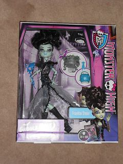 NEW, MONSTER HIGH, GHOULS RULE, FRANKIE STEIN, NEW RELEASE, VHTF