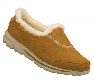 SKECHERS SHOE 13533 GO WALK TOASTY WOMEN FULL FAUX SOFT FUR LINING