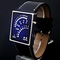 Great Whole Sale Fashion Blue LED Light Mens Fashion Wrist Watch,WL5
