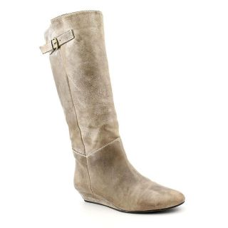 Used Steve Madden Intyce Womens Size 9 Gray Boots Knee Fashion   Knee
