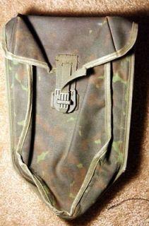 German camo folding shovel tool holder. Nice condition carrier
