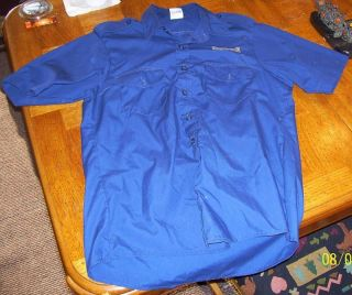 MILWAUKEE BREWERS STAFF UNIFORM SHIRT Stadium Employees Shirt