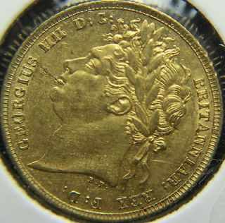 1822 saint george iv gold great britain sovereign time left