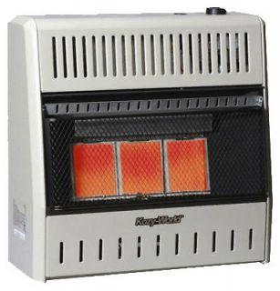 Kozy World 20,00 BTU Natural or Propane Gas 3 Plaque Infrared Heater