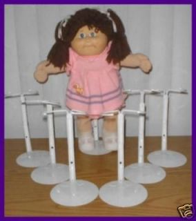 white kaiser doll stands for cabbage patch kids time