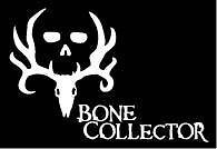 Bone Collector Hunting Gears   Window Vinyl Die Cut Peel N Stick