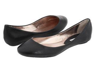 STEVE MADDEN Heaven BLACK Flats Ballet Shoes Womens Leather New NIB