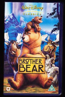 walt disney classics brother bear vhs pal uk video time
