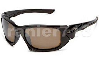 NEW Oakley Scalpel POLARIZED Sunglasses Brown Sugar/Tungsten Iridium