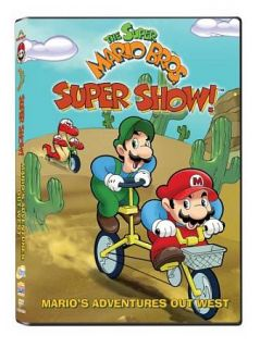 Super Mario Bros. Super Show Marios Adventures Out West DVD, 2009