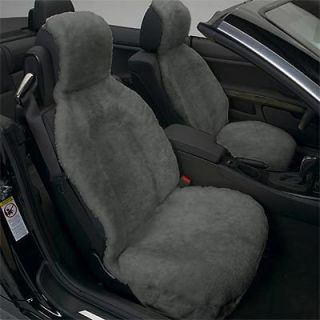 Eurow Side less 100% Sheepskin Seat Cover Accomodates Side Airbags