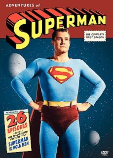 The Adventures of Superman   The Complete First Season DVD, 2005, 5