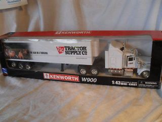 NewRay 2002 KENWORTH W900 Tractor Supply Semi Tractor Trailer NIB