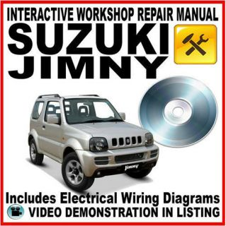 SUZUKI JIMNY 1998   2005  Workshop Repair Service Manual