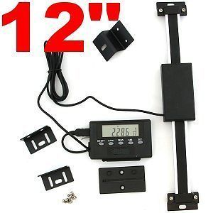 Newly listed 12 DIGITAL DRO TABLE READOUT SCALE for BRIDGEPORT