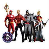 NEW Complete FLASHPOINT EXCLUSIVE ACTION FIGURE BOX SET Batman, WW