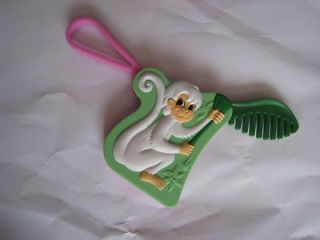 burger king toy barbie island princess tallulah monkey comb time